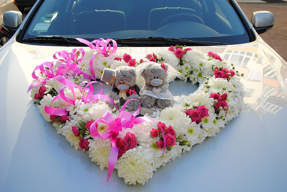 Формы букетов, свадебные букеты на авто